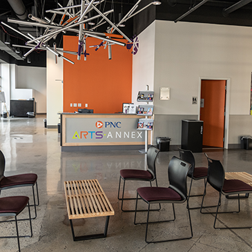 PNC Arts Annex lobby