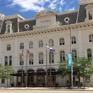 Exterior photo of Victoria Theatre